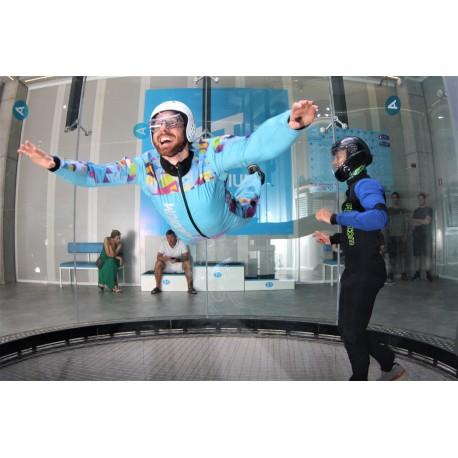 Letenje v vetrovniku – »Letalec«